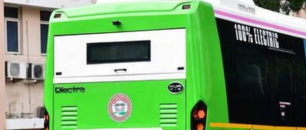 Electric bus eBuzz K9 begins trial run in Delhi